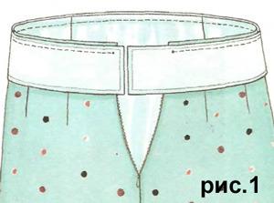 Qualityware Выкроить пояс для юбки